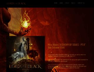 lordsofblack.com screenshot