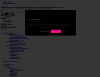 loreal-paris.fr screenshot