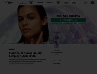 lorealparis-ar.com.ar screenshot