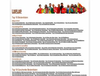 lorelure.net screenshot