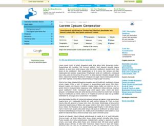 lorem-ipsum.perbang.dk screenshot