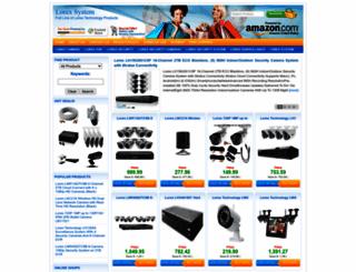 lorexsystem.com screenshot