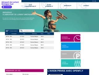 lorient.aeroport.fr screenshot