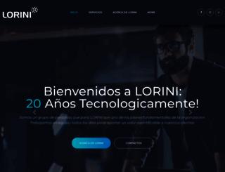 lorini.net screenshot