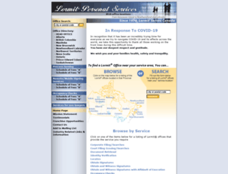 lormit.com screenshot