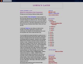 lornaslaces.blogspot.com screenshot
