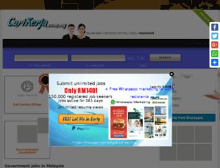 lorongsetia8.com screenshot
