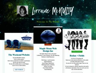 lorrainemcnulty.com screenshot