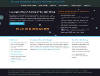 los-angeles-cabling.com screenshot
