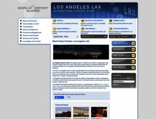los-angeles-lax.worldairportguides.com screenshot
