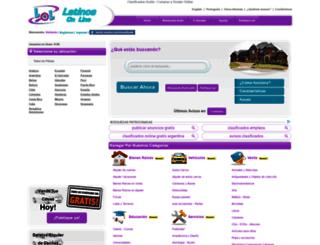 los-santos-provincia.lolclasificados.com screenshot