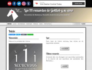 los111recuerdosdegottliebysuamo.com screenshot