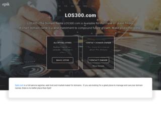 los300.com screenshot