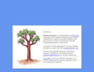 losacco.com.ve screenshot