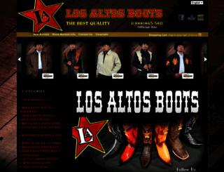 losaltosboots.com screenshot