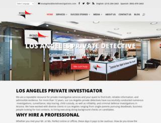 losangeles.bondinvestigations.com screenshot