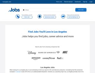 losangeles.jobs screenshot