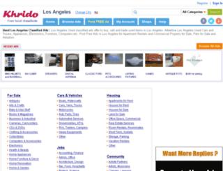 losangeles.khrido.com screenshot
