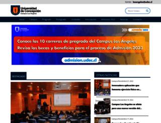 losangeles.udec.cl screenshot