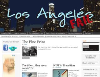 losangelesfail.com screenshot