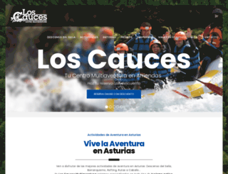 loscauces.com screenshot