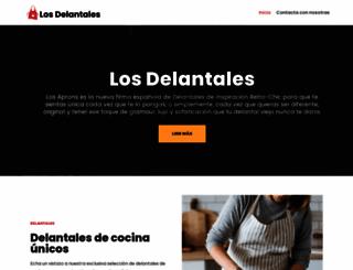 losdelantales.com screenshot
