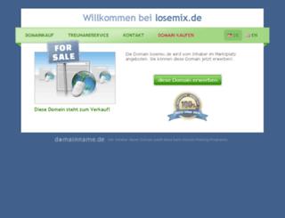 losemix.de screenshot