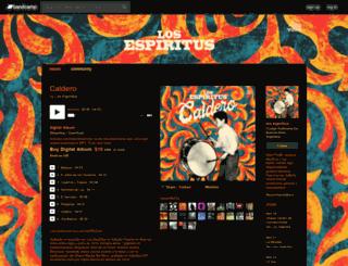 losespiritus.bandcamp.com screenshot