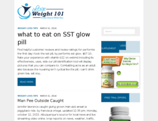 loseweight101.org screenshot