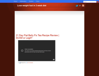 loseweightfast3weekdiet.blogspot.com screenshot