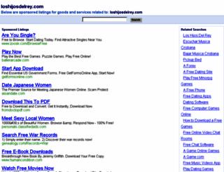 loshijosdelrey.com screenshot