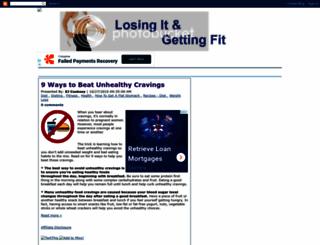 losingit-gettingfit.blogspot.com screenshot