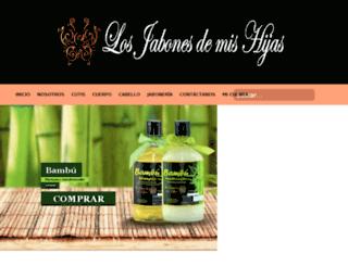 losjabonesdemishijas.com screenshot
