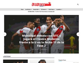 loslocosdesiempre.com screenshot