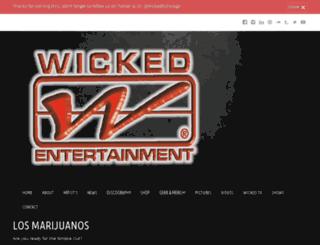 losmarijuanosmusic.com screenshot