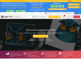 losmegacursos.com screenshot