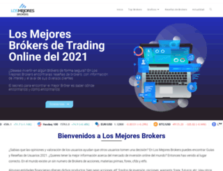 losmejoresbrokers.com screenshot