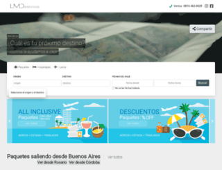 losmejoresdestinos.com screenshot