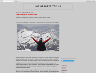 losmejorestop10.blogspot.mx screenshot