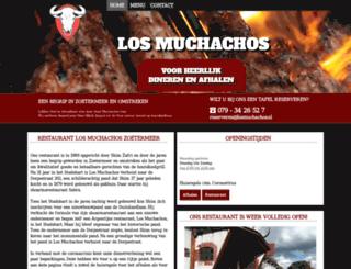 losmuchachos.nl screenshot