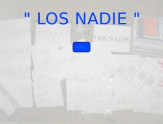 losnadie.com.ar screenshot