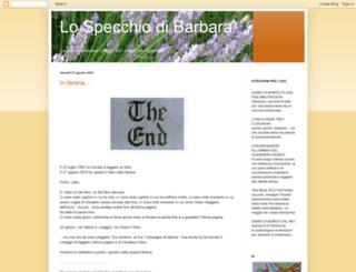 lospecchiodibarbara.blogspot.co.uk screenshot