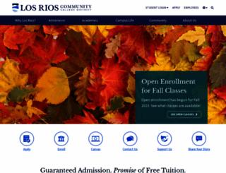 losrios.edu screenshot