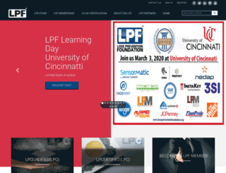 losspreventionfoundation.org screenshot