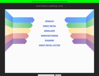 lost-foam-casting.com screenshot