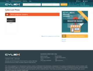 lost-pines-tx.cylex-usa.com screenshot