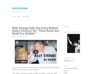lostandsound.wordpress.com screenshot