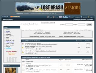 lostbrasil.com screenshot