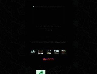 lostdestinations.com screenshot