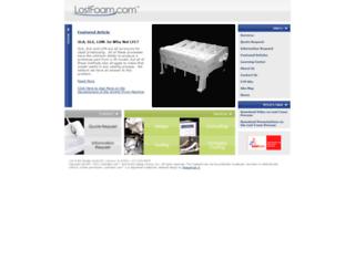lostfoam.com screenshot